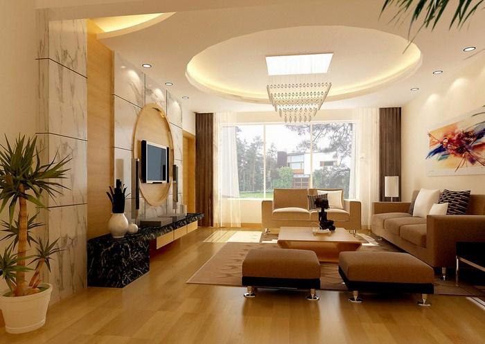Thiết kế nội thất tạo nên không gian sống sang trọng