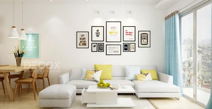 Thiết kế nội thất trong căn hộ chung cư