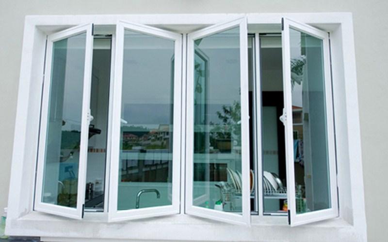 Cửa sổ làm bằng cửa nhôm xingfa