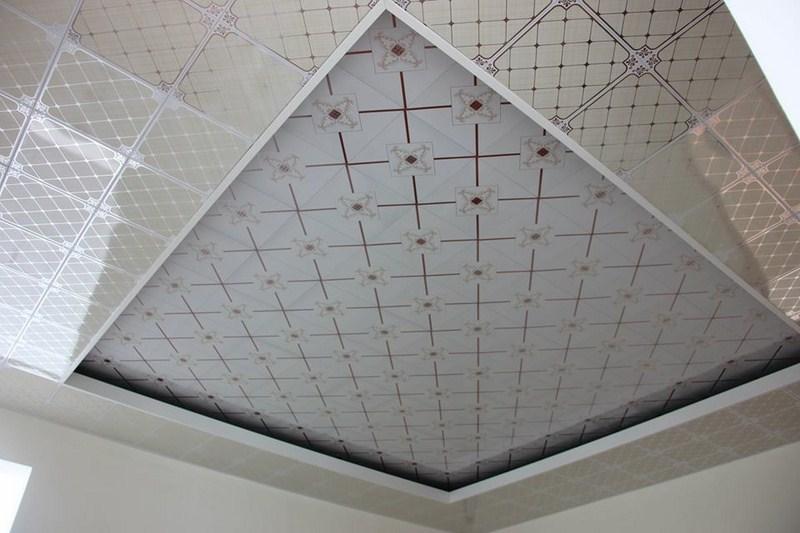Tô điểm nội thất với trần nhôm