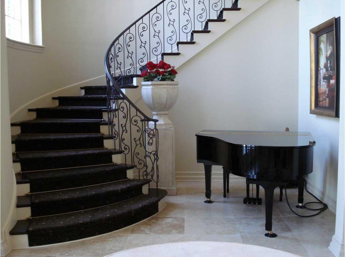 Cầu thang sắt 8