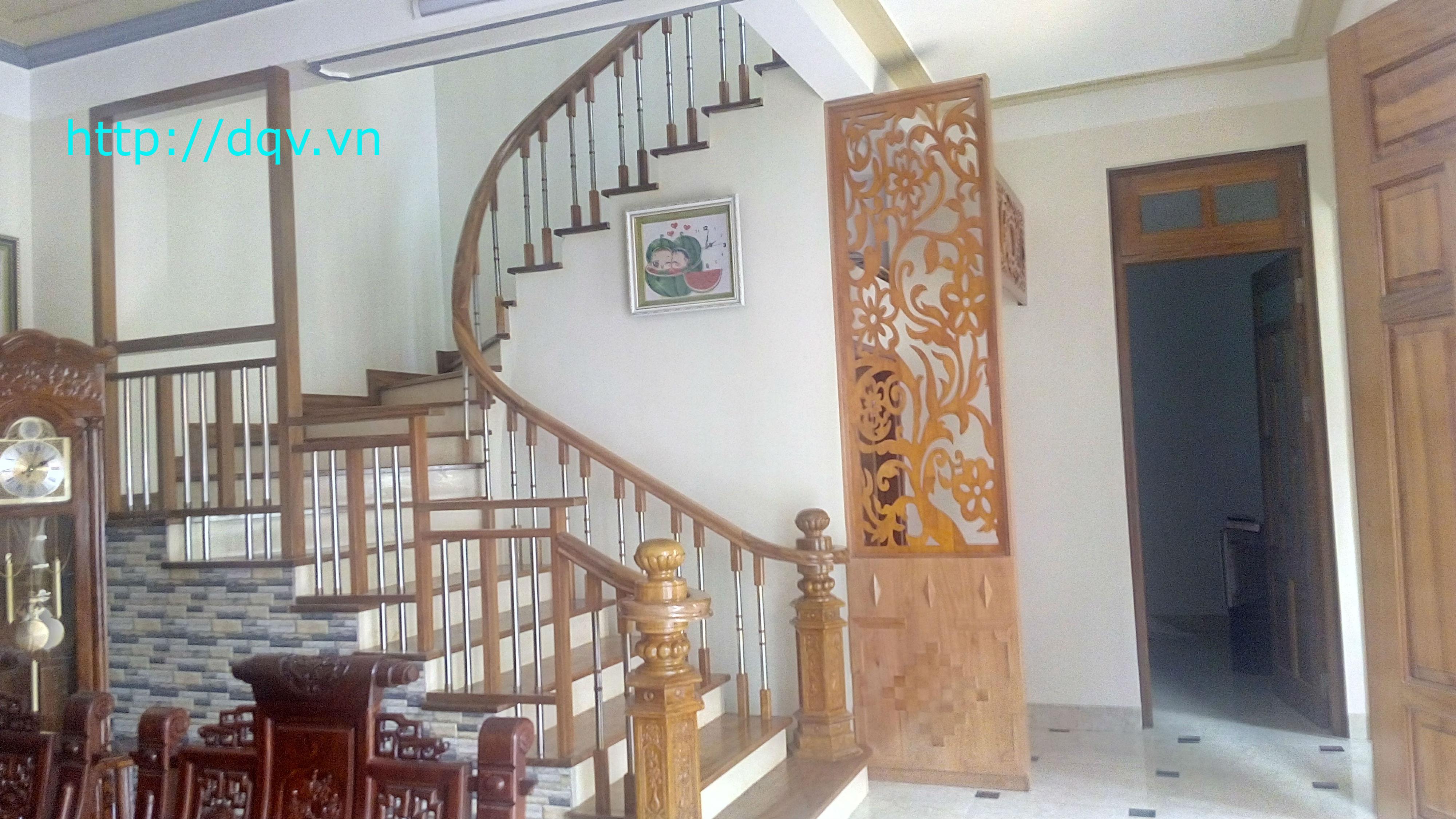 Cầu thang gỗ-3