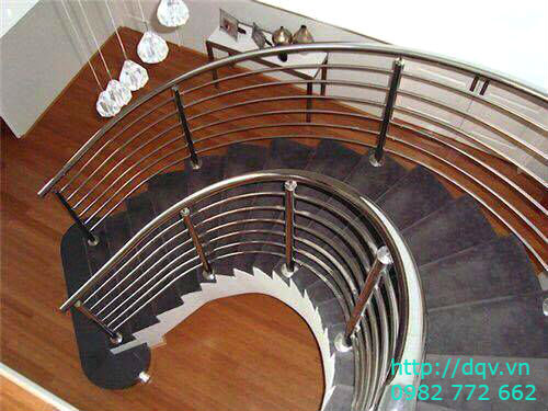 Cầu thang inox#9