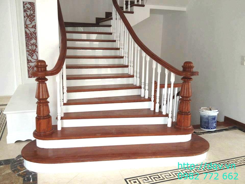 Mẫu cầu thang gỗ#2