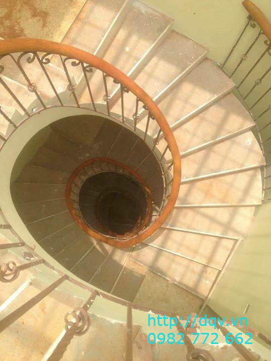 Cầu thang sắt nghệ thuật#3