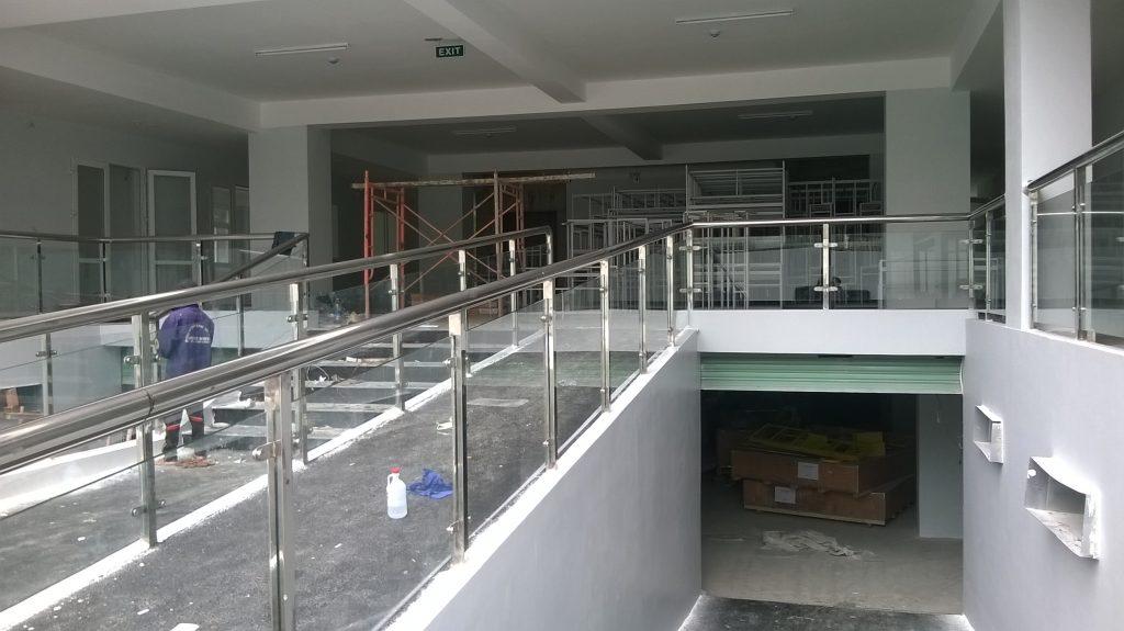 Cầu thang sắt thoát hiểm#3