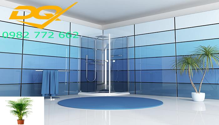 Vách tắm kính phòng tăm nano