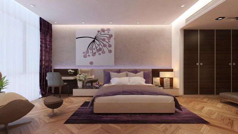 Nội thất phòng ngủ đẹp, hiện đại và độc đáo
