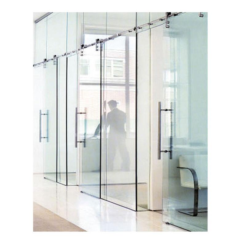 Cửa kính cường lực với phong cách sang trọng tại công ty
