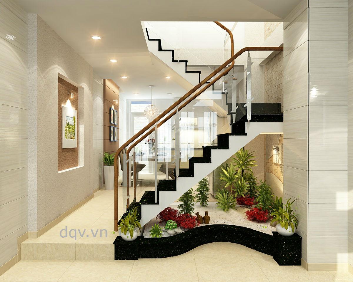 Cầu thang kính 1