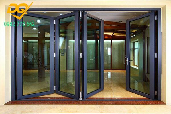 Cửa nhôm kính cao cấp đặc biệt thích hợp với hệ thống cửa mặt tiền