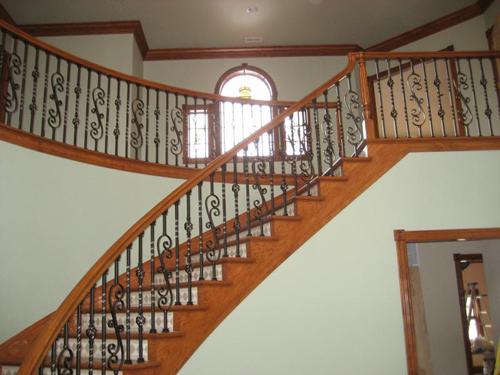 Cầu thang sắt mỹ thuật#7