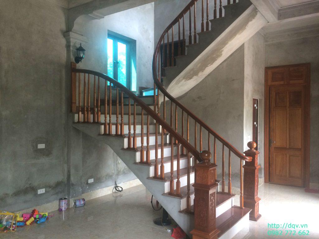 Cầu thang gỗ#11