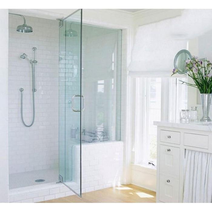 Lắp đặt vách kính nhà tắm đẹp#1