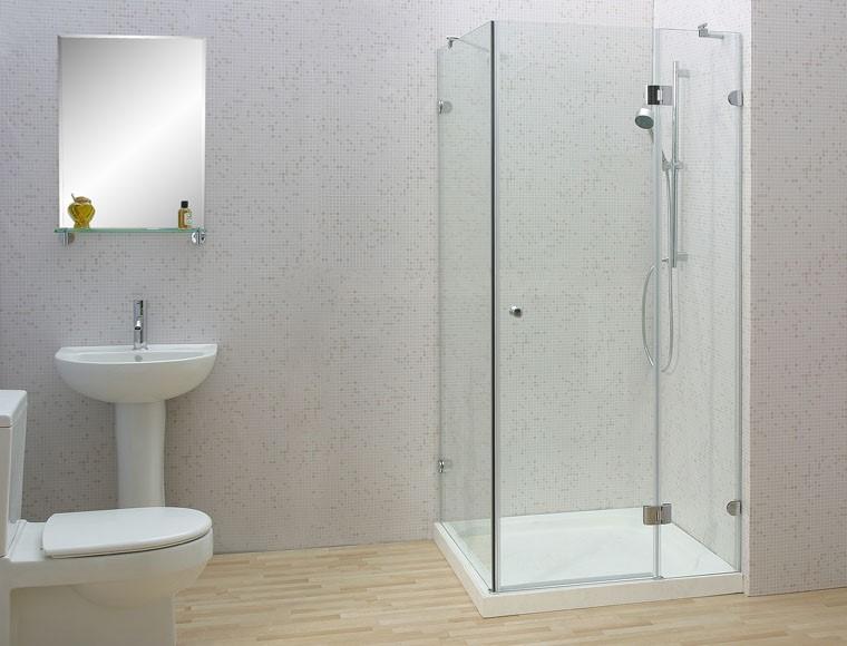 Lắp đặt vách kính nhà tắm đẹp#2