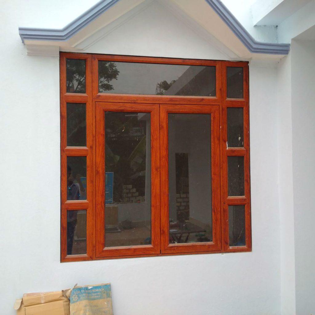 Cửa nhôm Xingfa vân gỗ nhập khẩu#2
