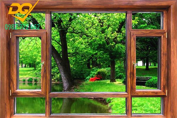 Cửa nhôm Xingfa vân gỗ nhập khẩu#1