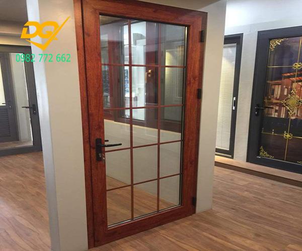 Cửa nhôm Xingfa vân gỗ nhập khẩu#8