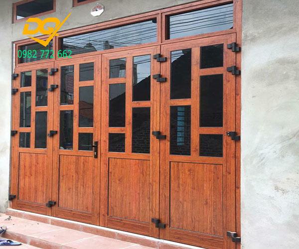Cửa nhôm Xingfa vân gỗ nhập khẩu#9