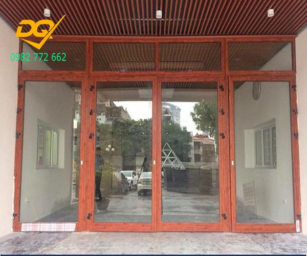 Cửa nhôm Xingfa vân gỗ nhập khẩu#7