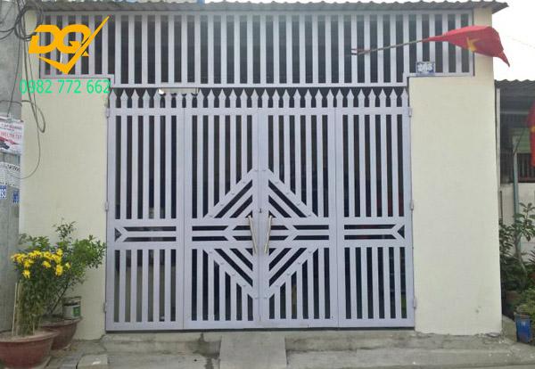 Cửa cổng sắt inox đẹp#5
