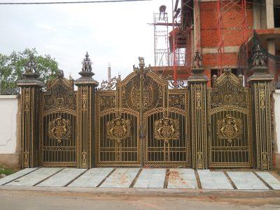 Hàng rào sắt hộp inox