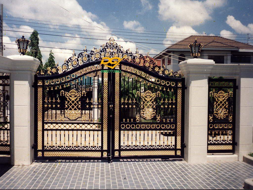 Hàng rào sắt hộp inox#5