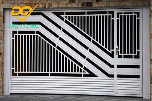 Cửa cổng sắt inox đẹp#15