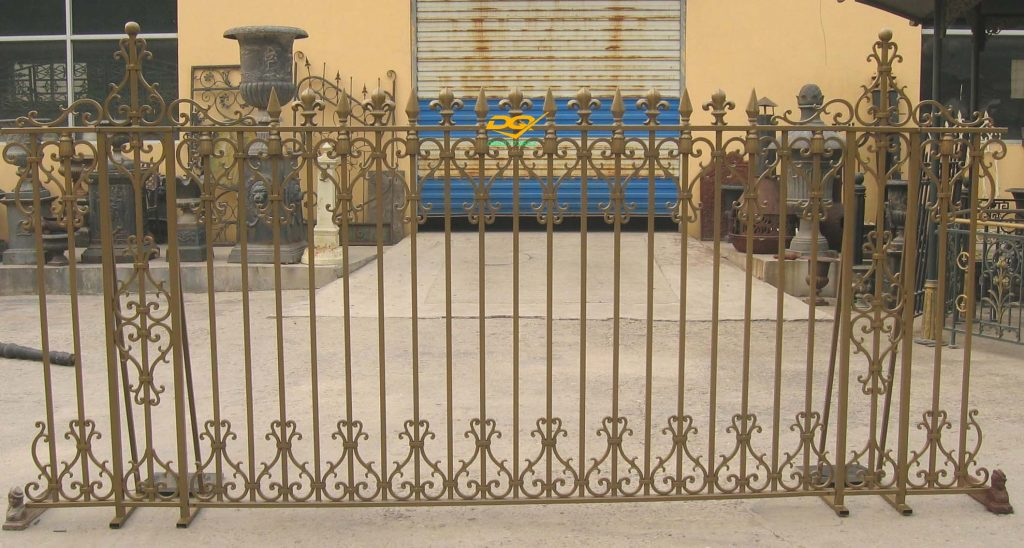 Hàng rào sắt hộp inox#2