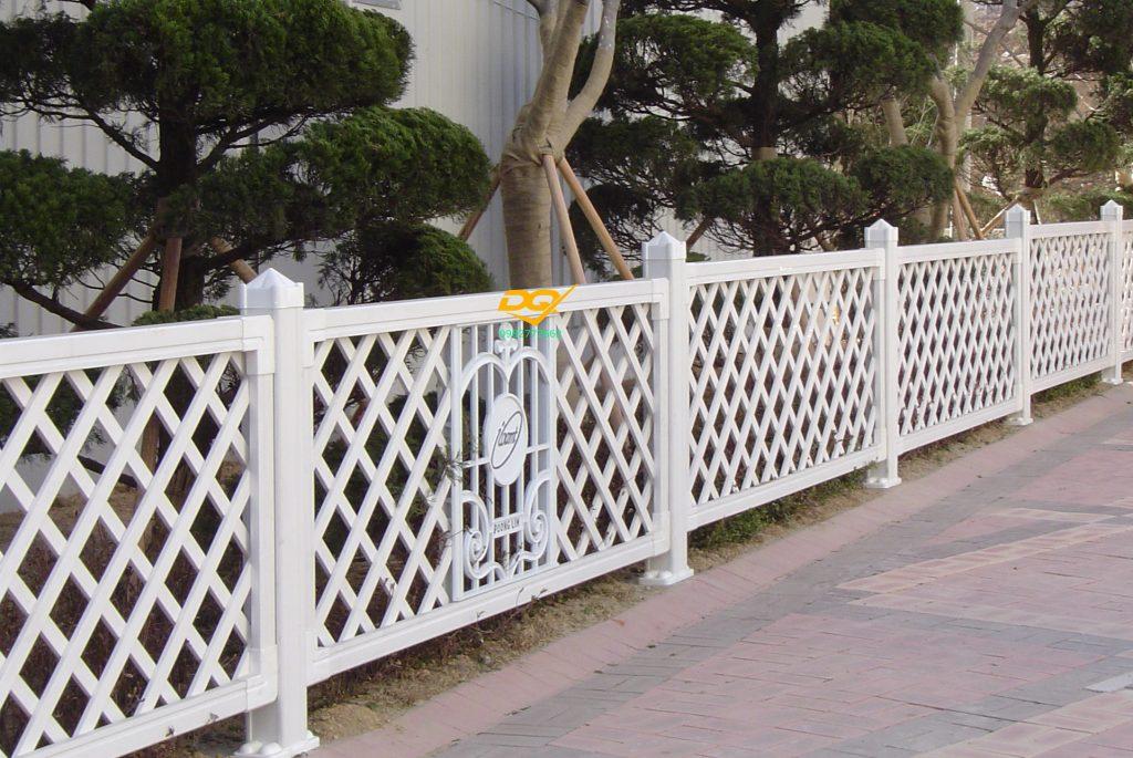 Hàng rào sắt hộp inox#1
