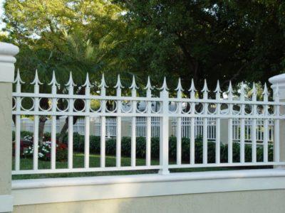 Mẫu hàng rào song sắt đẹp