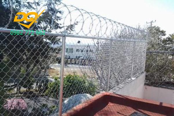 Mẫu hàng rào sắt b40 - 9