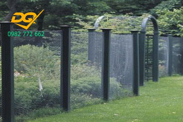 Mẫu hàng rào sắt b40 - 11
