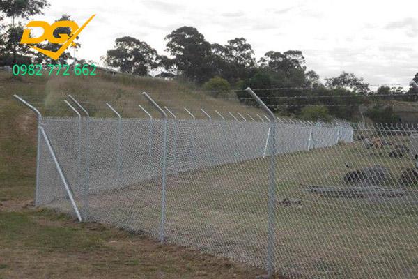 Mẫu hàng rào sắt b40 - 8