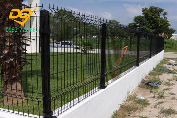 Mẫu hàng rào sắt b40 - 17