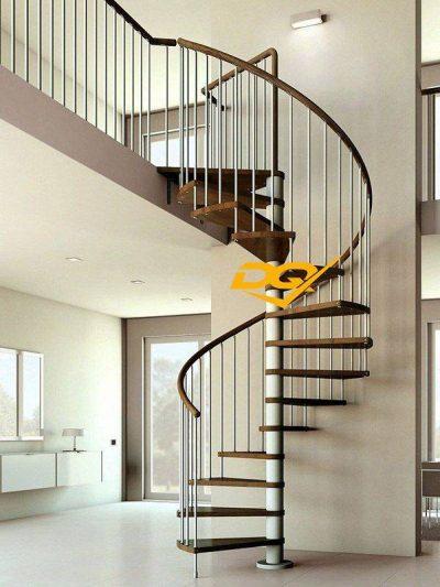 Cầu thang xoắn ốc inox