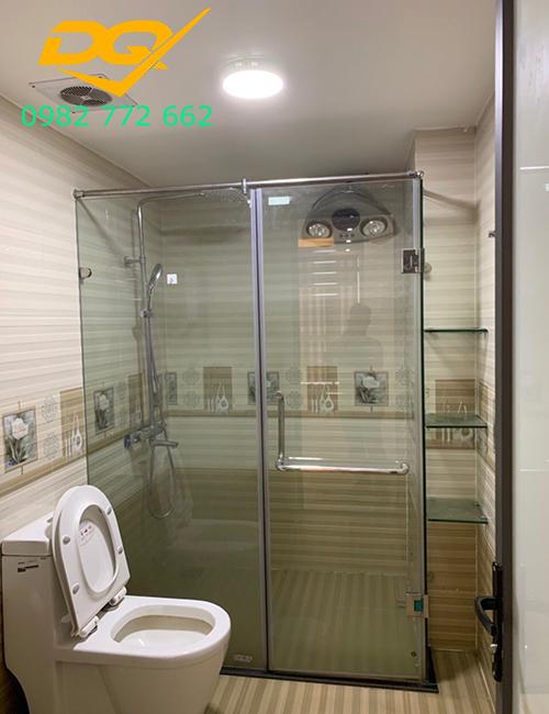 Vách tắm kính cho phòng tắm nhỏ#4