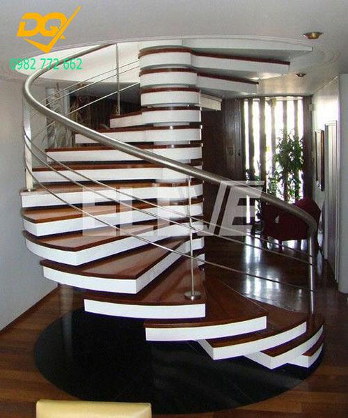 Cầu thang xoắn ốc inox#14