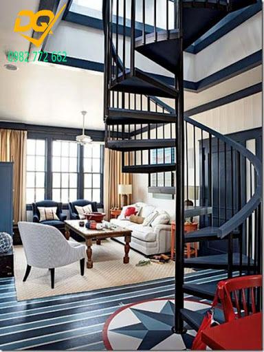 Cầu thang xoắn ốc inox#1