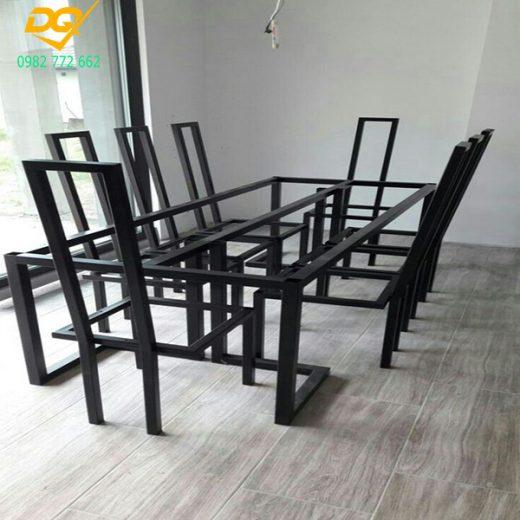 Mẫu bàn ghế sắt phòng khách - 2