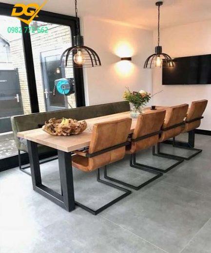 Mẫu bàn ghế sắt phòng khách - 9