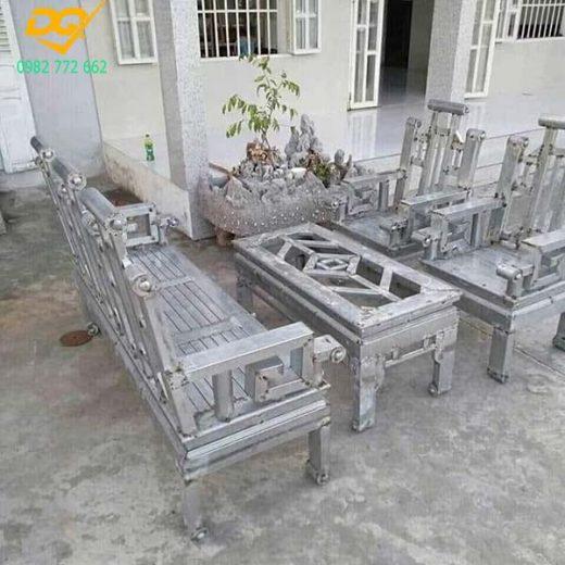Mẫu bàn ghế sắt phòng khách - 10