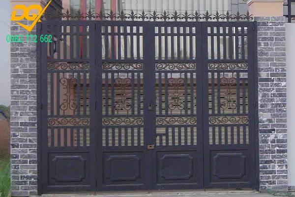Mẫu cửa hàng rào sắt - 4