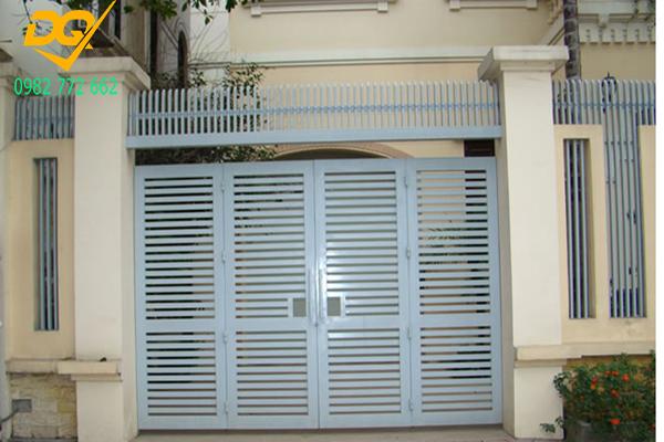 Mẫu cửa hàng rào sắt - 5