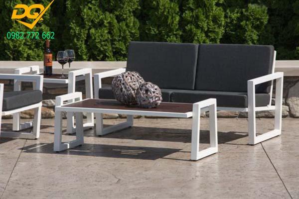 Mẫu bàn ghế sắt phòng khách - 11