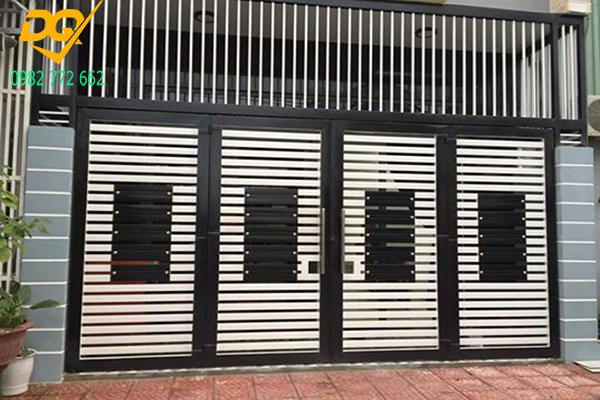 Mẫu cửa hàng rào sắt - 10