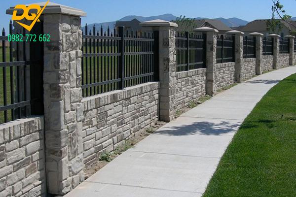 Mẫu hàng rào sắt đơn giản đẹp - 5