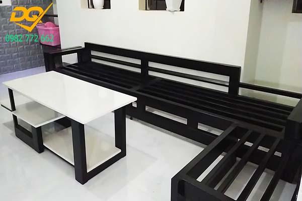 Mẫu bàn ghế sắt phòng khách - 12