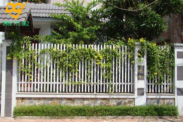 Mẫu hàng rào sắt đơn giản đẹp - 8
