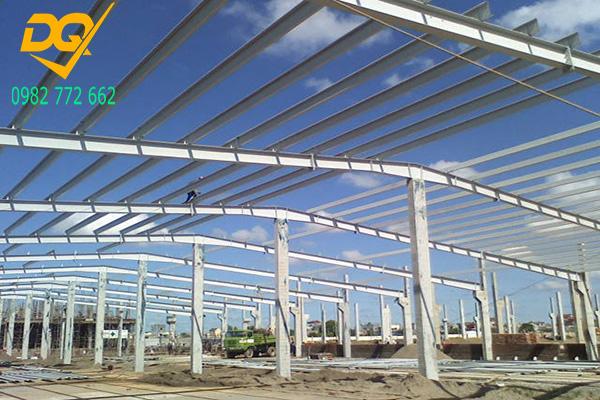 Mẫu nhà xưởng lợp mái tôn bằng thép - 6